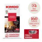 Promo 160 capsule Kimbo Napoli + 1 mazzo di carte Mercante in Fiera